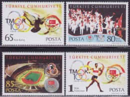 LR86. Turkey, 2008, 100 Years Of The Turk National Olympic Committee, MNH (**) - 1921-... Republik