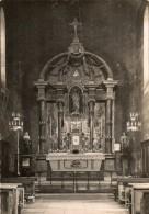 CPSM MAUZE SUR LE MIGNON. Le Choeur De L'église. 1952 - Mauze Sur Le Mignon