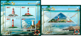 7 SHEETS COLLECTION PHARES LIGHTHOUSES FAROS