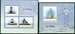 2 SHEETS PHARES LIGHTHOUSES