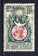 Togo : 275 OBL