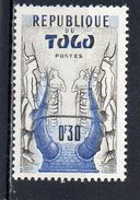 Togo : 278 X