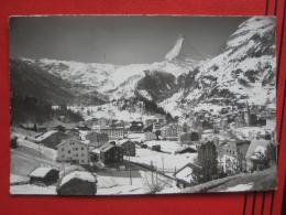 Zermatt (VS) - Panorama Gegen Matterhorn Winter - VS Valais