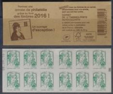 C - Ciappa Lettre Verte -  Livre Des Timbres 2016 - Date En Haut N° 086 (2016) Neuf** - Carnets