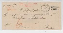 Weimar   -uralter Beleg     ( G3494 ) Siehe Foto - Allemagne