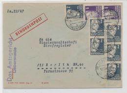 DDR Behördenpost-  Beleg   ( G3552 ) Siehe Foto