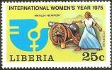Matilda Newport , Ex Slave,  Liberian Freedom Fighter, Cannon, Black Heritage, Famous Woman,  MNH  Liberia