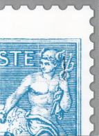 Feuillet   Gommée   Offert Par Philaposte - 2 ème Quart Type Sage