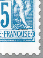 Feuillet   Gommée   Offert Par Philaposte - 4 ème Quart Type Sage