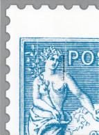 Feuillet   Gommée   Offert Par Philaposte - 1 ER Quart Type Sage