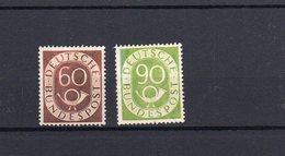 Bund Posthorn Postfrisch *  135 + 138  90 Pfg.  (  N  5286  )