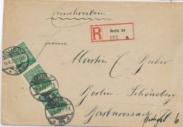 Berlin- R.-Brief    ( Ze2400  ) Siehe Foto