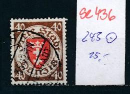 Danzig Nr. 243  O  ( Se436  ) Siehe Foto