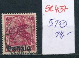 Danzig Nr. 51  O  ( Se437  ) Siehe Foto