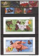 Bhutan 1999. Michel #1917/35+Bl 394/97 MNH/Luxe. Butterflies. (TS20)