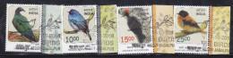 INDIA, 2016, FIRST DAY CANCEL, Set 4v, Complete Threatened Birds, Nicobar Pigeon,Nilgiri Flycatcher,Andaman Woodpecker.