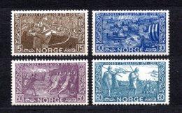 1941 NORWAY SNORRI STURLUSON MICHEL: 260, 262-264 MNH **