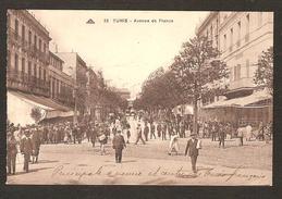 TUNIS - Avenue De France  N° 33 ( Belle Animation )