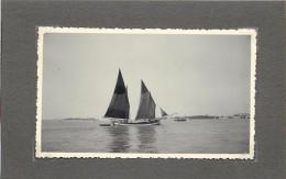 VENISE (Italie) - Bateaux Vénitiens, Lot De Deux Photos Format 11 X7,6cm Et 6,6cm - Barcos