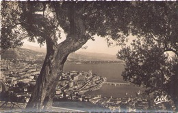 MONTE CARLO VUE GENERALE AU LOIN LE CAP MARTIN - Monte-Carlo