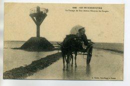 85 NOIRMOUTIER Cariole Passage Du Gois -1149 Duclos Edi 1910    /D15 -2016 - Noirmoutier