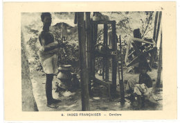 Cpa Indes Françaises - Cordiers     ((S.612)) - Inde