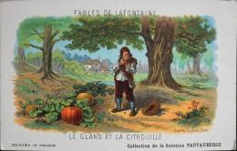 Format CPA - Les Fables Jean De LA FONTAINE Le Gland Et La Citrouille - D'après Gustave DORE - Bon Etat - Fairy Tales, Popular Stories & Legends