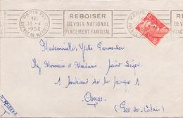 FRANCE ENVELOPPE DU 18 AVRIL 1950 DE PARIS POUR ARRAS - Cartas