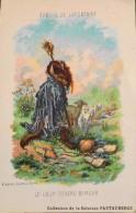 Format CPA - Les Fables Jean De LA FONTAINE Le Loup Devenu Berger - D'après Gustave DORE - Bon Etat - Fairy Tales, Popular Stories & Legends