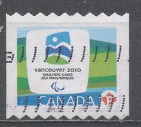 Canada 2009 Scott #2307B 2010 Vancouver Winter Paralympics Emblem (U)