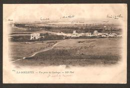 La GOULETTE Vue Prise De Catthage (Chemin De Fer De La Goulette à Tunis Et Ligne De La Goulette à La Maria )
