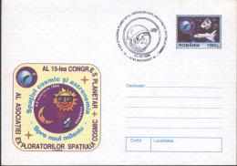 Eclipse Solaire Totale 11 08 1999,Lune,Soleil,Lunettes ,Antenne,Fusee /Rocket,Etoile    Entier Postal - Roumanie/Romania