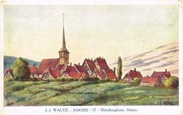 ILLUSTRATEUR HANSI. MITTELBERGHEIM ALSACE - Hansi