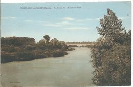 CONFLANS SUR SEINE - La Seine En Amont Du Pont - Other Municipalities