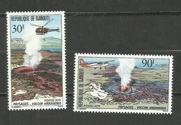 Djibouti N°497, 498 Neufs** Cote 4.15 Euros