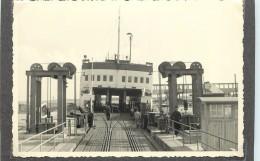 FERRY BOAT-de Nyborg à Corsor En 1954 (Danemark),Photo Format 12,6x8,8 Cm - Bateaux
