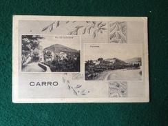 Cartolina Carro La Spezia  Via XX Settembre ,panorama Viaggiata 1940 Formato Piccolo - La Spezia
