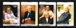 Australia Used Scott #2779-#2782 Set Of 4 Philanthropists - Australian Legends