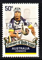 Australia Used Scott #2811 50c Johnathan Thurston, Cowboys - Rugby League Centenary