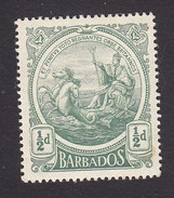 Barbados, Scott #128, Mint Hinged, Seal Of The Colony, Issued 1916 - Barbados (...-1966)