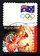 Australia Used Scott #2885 50c Chinese Dragon - 2008 Summer Olympics
