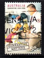 Australia Used Scott #2894 50c Quarantine Official, Dog - Centenary Of Quarantine Laws