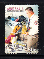 Australia Used Scott #2895 50c Quarantine Official, Dog - Centenary Of Quarantine Laws