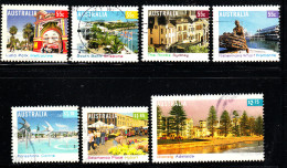 Australia Used Scott #2934-#2940 Set Of 7 Tourist Areas Of Australian Cities
