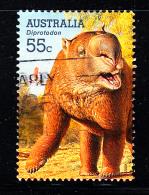 Australia Used Scott #2976 55c Diprotodon - Large Extinct Animals