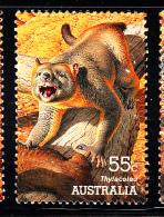 Australia Used Scott #2977 55c Thylacoleo - Large Extinct Animals