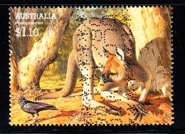 Australia Used Scott #2980 $1.10 Procoptodon - Large Extinct Animals