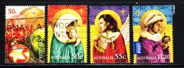 Australia Used Scott #2986-#2989 Set Of 4 Christmas