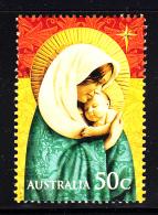 Australia Used Scott #2987 50c Madonna And Child - Christmas