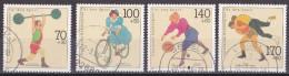 Nb_ Bund - Mi.Nr. 1499 - 1502 - Gestempelt Used